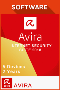 Avira Internet Security Suite 2018 2 Years - 5 Devices