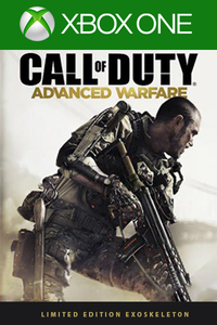 COD: Advanced Warfare - Limited Edition Exoskeleton Code DLC Xbox One
