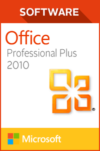 Microsoft Office Pro Plus 2010 - 1 user PC