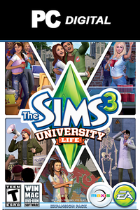 The Sims 3: University Life DLC PC